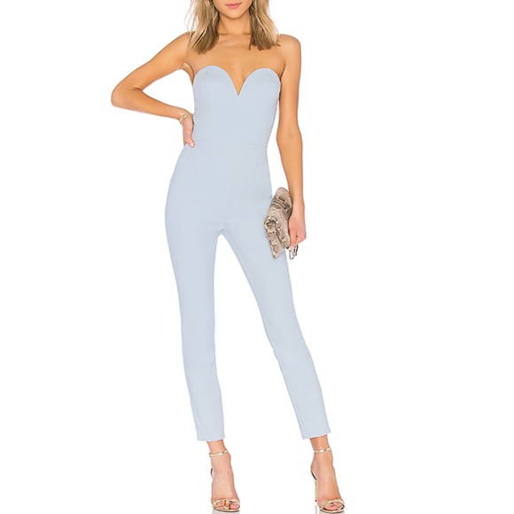 Carina Sweetheart Strapless Jumpsuit | by the way